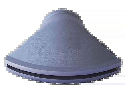 "WATER TRUCK DUCKBILL SPRAY HEAD 3"" VIC X 7"" X 1/4"" SLOT DWP133"
