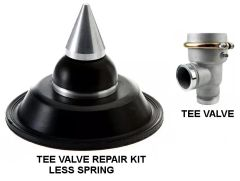 WATER TRUCK TEE STYLE VALVE - REPAIR KIT - LESS SPRING 694819519030KIT