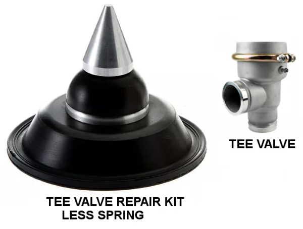 WATER TRUCK TEE STYLE VALVE - REPAIR KIT - LESS SPRING 694819519030KIT DWP244