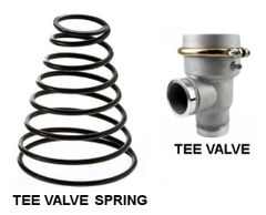 WATER TRUCK TEE STYLE VALVE - REPLACEMENT SPRING 694819511056SPG