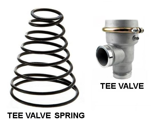 WATER TRUCK TEE STYLE VALVE - REPLACEMENT SPRING 694819511056SPG DWP247