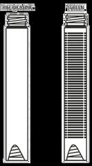 "Environment Ground Water Monitoring Screen - 4"" x 5' Sch 40 Flush Joint"