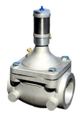 "3"" Hydraulic Operated In-Line Remote Controlled Valve - Aluminum"