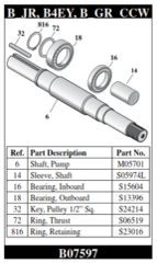 B07597 Berkeley Shaft Kit