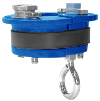 "6"" Submersible Pump Well Seal with Eye Bolt"