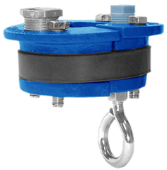 "3"" Submersible Pump Well Seal with Eye Bolt"