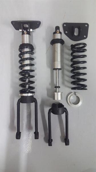 jeep liberty kj  kk dodge nitro front coilover suspension lift kit cb engineering