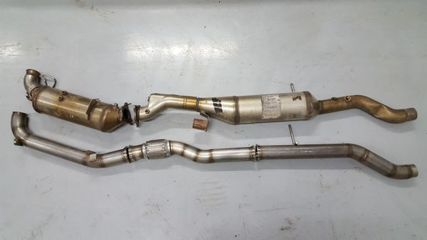 EcoDiesel JEEP WK2 OFF ROAD PIPE