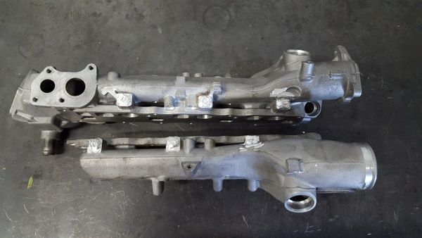 2007 -2008 Jeep Mercedes CRD OM642 Intake Manifold - Swirl Valve Removal  and Port Match