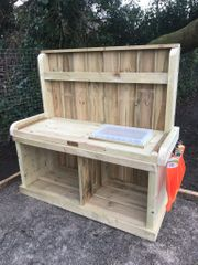 Little Potcher's Workbench with Storage Container