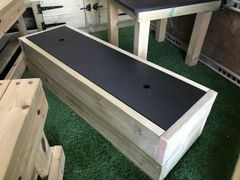 Chalkboard Storage Bench