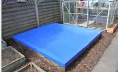 1.8m x 1.8mSandpit with UPVC cover