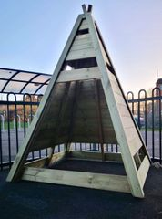 Deluxe Timber TeePee