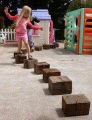 Sleeeper Stepping Blocks