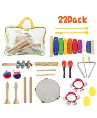 22X Wooden Percussion Instruments