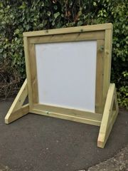 Square Freestanding Whiteboard