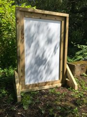 1.2m Freestanding Whiteboard