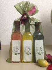 Trio gift sets (Blood Orange Olive Oil, Strawberry Balsamic Vinegar & Cranberry Pear Balsamic
