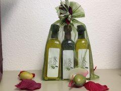 Trio gift sets (Tuscan Herb Olive Oil, 18 years aged Balsamic Vinegar & Lemon Olive Oil )