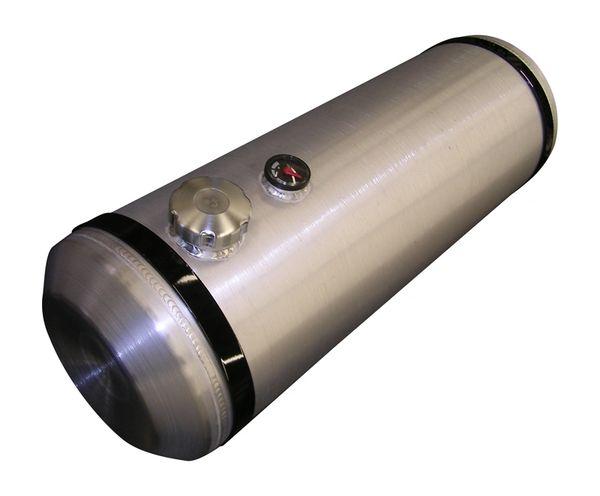 8X12 Fuel Tank Center Fill Spun Aluminum 2.5 Gallons 3//8 NPT Outlet USA MADE