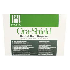COLTENE HYGENIC ORA-SHIELD DENTAL DAM NAPKIN FRAME