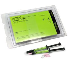 PULPDENT LIME-LITE LIGHT CURE CAVITY LINER