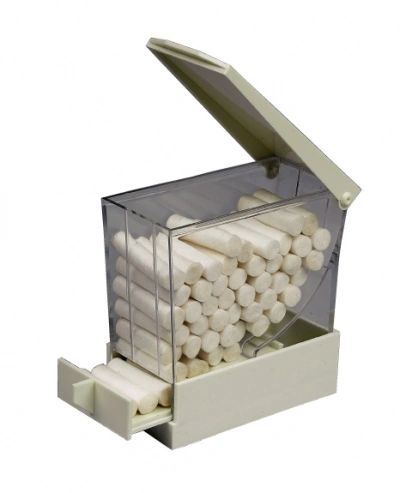 PLASDENT COTTON ROLL DISPENSER