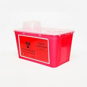PLASDENT SHARPS CONTAINER