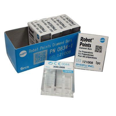 SHOFU ROBOT FG DIAMOND BURS