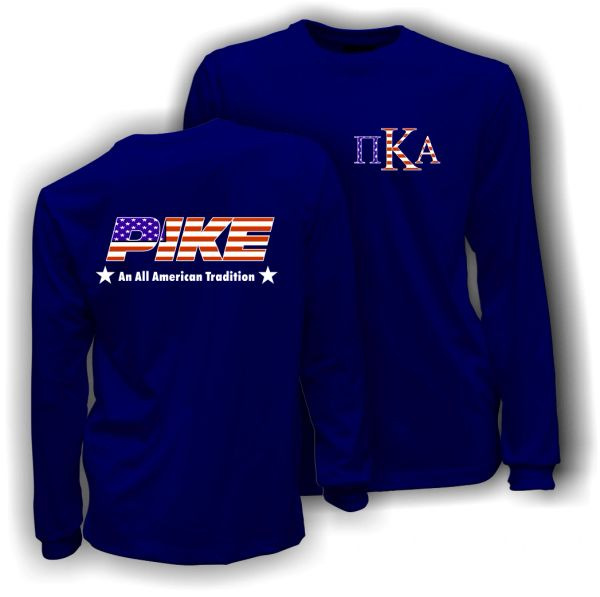PIKE All American Tradition LS Comfort Colors