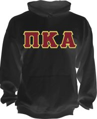 PIKE Classic Hooded Sweatshirt with Stitched Letters