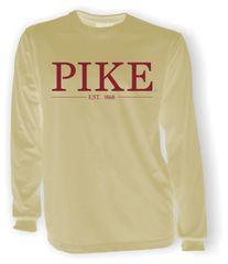 PIKE Long Sleeve Khaki Comfort Colors