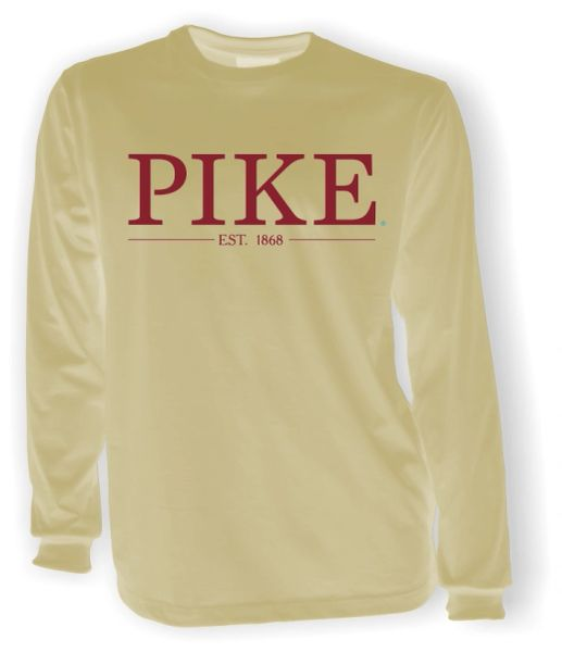 PIKE Long Sleeve Khaki Comfort Colors