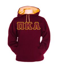 PIKE Garnet and Gold Hooded Sweatshirt