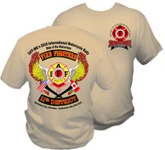 SHORT SLEEVE - IAFF MG District 11 Mackinaw 2019-READ INFO in Description