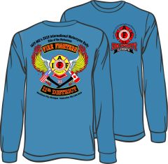 LONG SLEEVE -IAFF MG Mighty 11 Mackinaw 2019 - READ INFO in Description