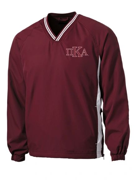 NEW! PIKE V-Neck Wind Jacket with Big K Logo