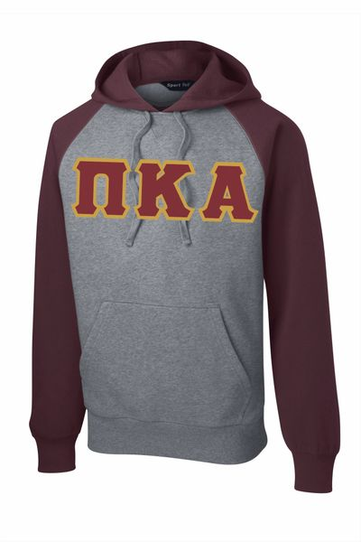 NEW Pike garnet athletic gray Hoodie