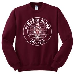 NEW! PIKE Crewneck Coat of Arms
