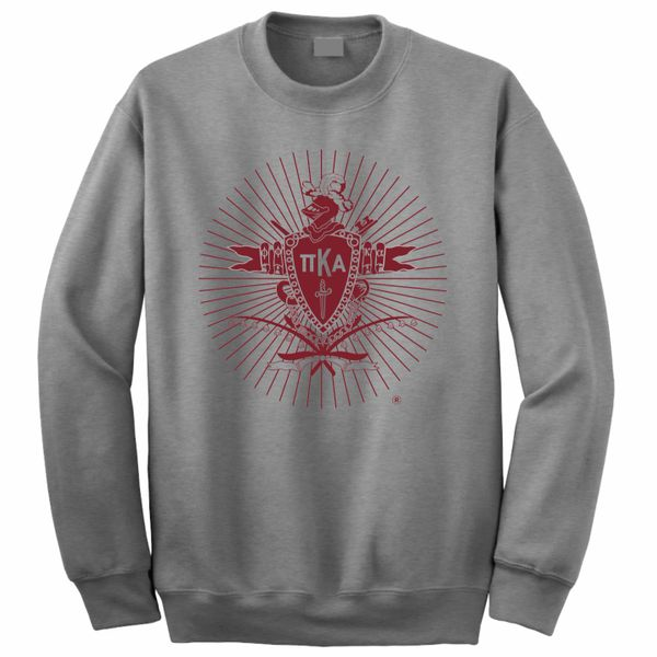 NEW! Crewneck Sweatshirt with Coat of Arms