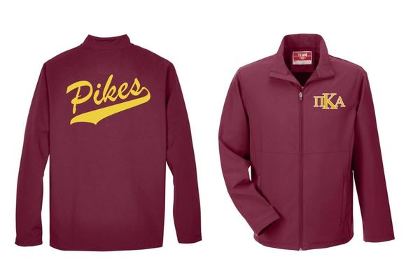 NEW PIKE Classic Jacket with Twill and Big K Logo