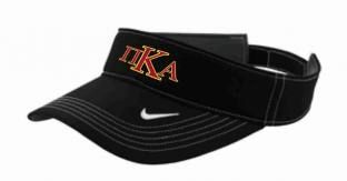 PIKE Nike Visor available in black or white