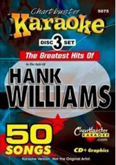 Hank Williams Charatbuster 50 Song Pack Cb5075