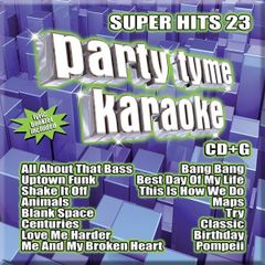Party Tyme Karaoke Super Hits 23 Syb-1122
