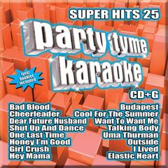 Party Tyme Karaoke Super Hits 25 Syb-1125