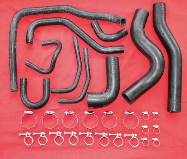 84-88 EFI Complete Coolant Hose Kit 22RE Toyota Pickup
