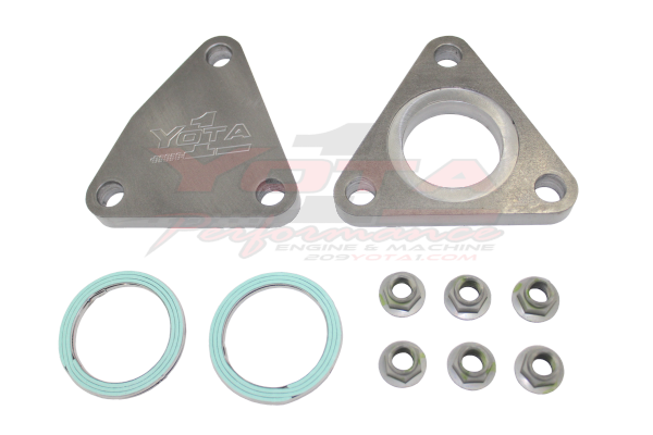 3VZ 3 0 Exhaust Crossover Delete Kit 1988-1995