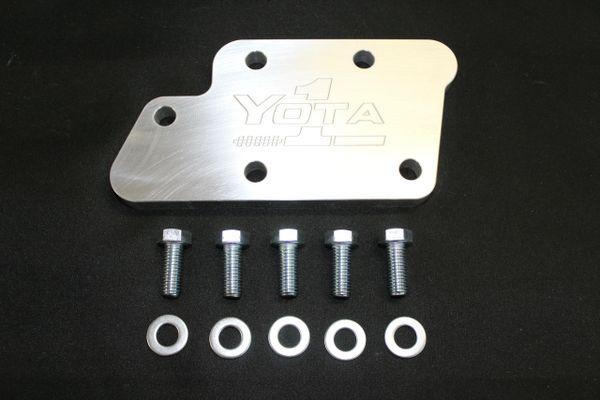 EGR Cooler Block Plate (Back of head) 20R, 22R & 22RE