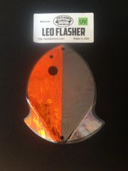Medium Leo Flasher Orange Frost / Black Frost