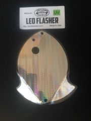 Medium Leo Flasher Silver Snake Skin